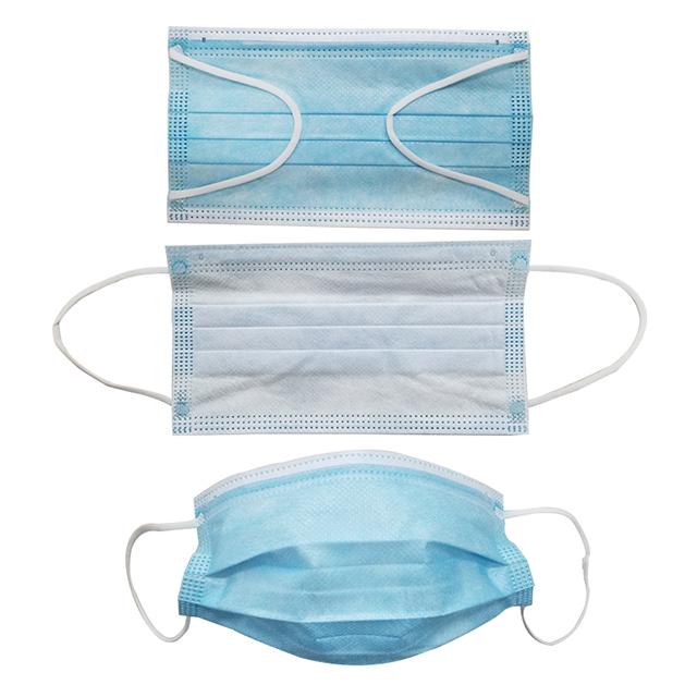 蓝色一次性防护面膜