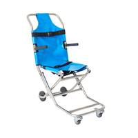 Aluminum Light Weight Adjustable Stair Stretcher for Patient