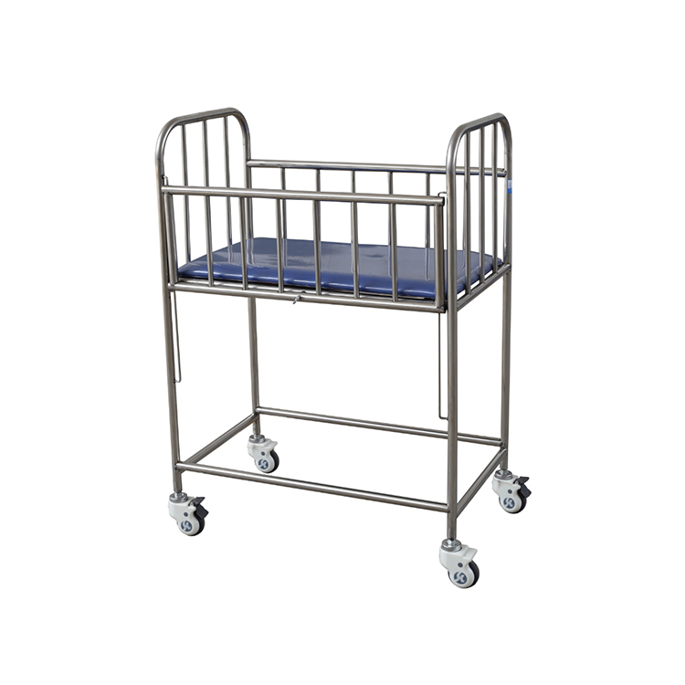 不锈钢婴儿床