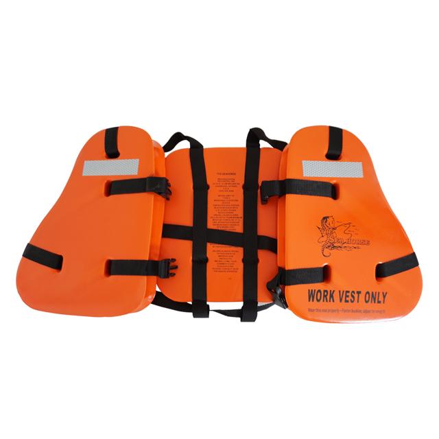 救生衣用于在海岸和河面上航行的船上的水手和乘客的救生