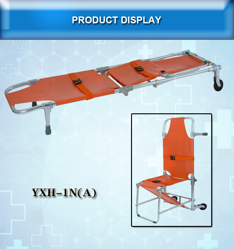 Aluminum Alloy Folding Stretcher Can Be Convert into Chair