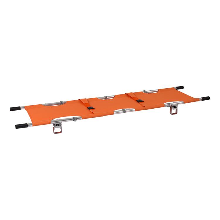 折叠担架铝合金紧急医疗亚折叠提取担架