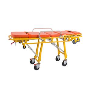 不锈钢救护车应急担架推车患者运输车辆为医院