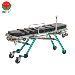 New Adjustable Transport Ambulance Stretcher with Soft Mattress
