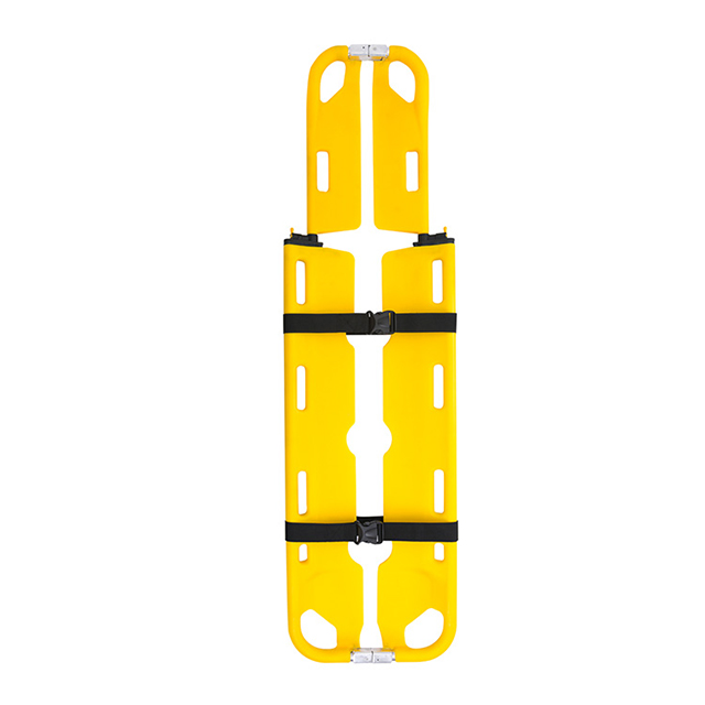 Rescue Spinal Scoop Stretcher with Straps in Hospital