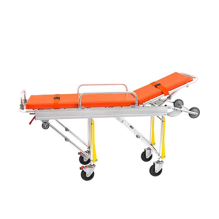 带轮子的医院紧急医疗救护担架