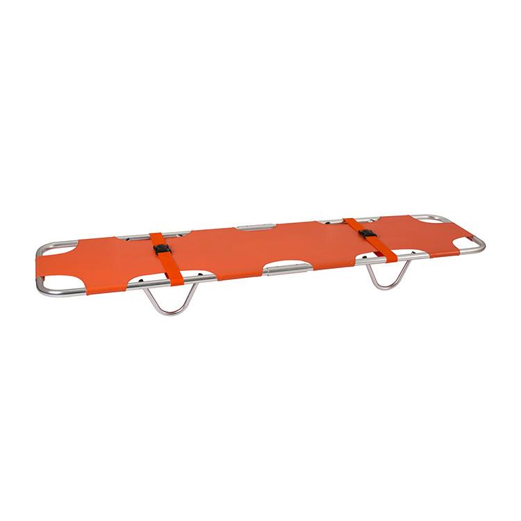 紧急救援双折铝合金折叠式担架